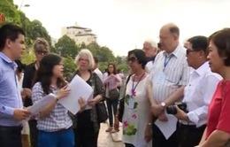 Chuyến tham quan ý nghĩa tại TP.HCM của các đại biểu quốc tế