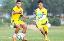 U21 Việt Nam chuẩn bị cho trận gặp U21 Thái Lan