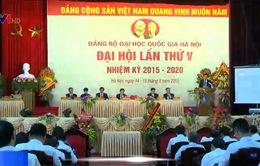 ĐHQG Hà Nội tổ chức Đại hội Đảng bộ lần thứ V