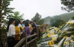 Hàng vạn lượt người viếng mộ Đại tướng Võ Nguyên Giáp dịp Tết