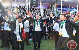 Palestine: 4.000 người tham giađám cưới tập thể tại dải Gaza