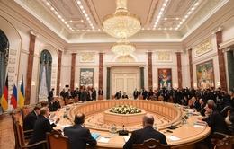 Đàm phán 4 bên về Ukraine ở Minsk kết thúc