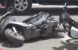 Dàn cảnh cướp dây chuyền gây tai nạn giao thông ở TP.HCM