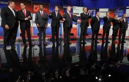 Bầu cử Tổng thống Mỹ: Ứng cử viên Đảng Cộng hòa bước vào phiên tranh luận đầu tiên