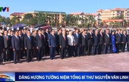 Lãnh đạo Đảng, Nhà nước dâng hương tưởng niệm Tổng Bí thư Nguyễn Văn Linh