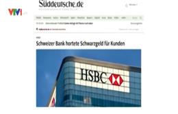 """Danh sách """"đen"""" các khách hàng của HSBC được tiết lộ"""