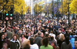 Dân số nước Anh tăng cao kỷ lục