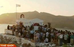 Hy Lạp: Hơn 12.000 người di cư trái phép tới đảo Leros