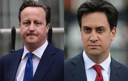 Bầu cử Anh: Hai chính đảng lớn nhất vẫn giành nhau từng điểm