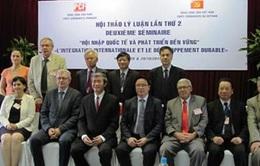 Hội thảo lý luận Đảng Cộng sản Việt Nam - Pháp