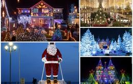 Dạo một vòng thế giới ngắm Giáng sinh lung linh