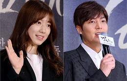 """Park Shin Hye ghé thăm """"tình cũ"""" Lee Min Ho"""