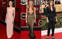 """""""Soi"""" trang phục hàng hiệu của sao tại SAG Awards 2015"""