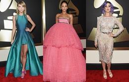 Soi trang phục hàng hiệu của sao tại Grammy 2015