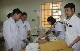 Vụ sập giàn giáo Formosa: Thêm nhiều công nhân phải chuyển lên HN điều trị