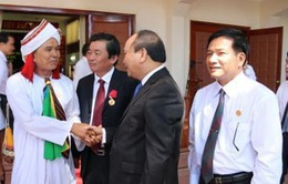 PTTg Nguyễn Xuân Phúc dự Đại hội thi đua yêu nước tỉnh Ninh Thuận