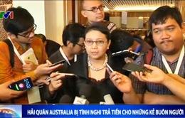 Hải quân Australia bị tình nghi trả tiền cho những kẻ buôn người