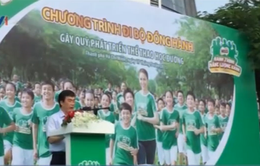 10.000 người đi bộ gây quỹ phát triển thể thao học đường