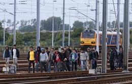 Người di cư làm đường hầm nối Anh - Pháp ngừng hoạt động
