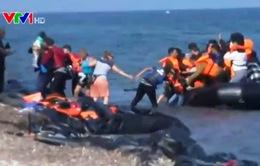 Người di cư đổ vào Hy Lạp ngay trong ngày bầu cử