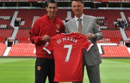 Sa sút phong độ, Di Maria vẫn bán áo chạy nhất Ngoại hạng Anh