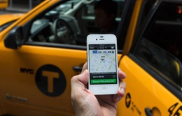 Mỹ: Taxi Uber lấn át taxi truyền thống