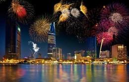 TP.HCM: 8 điểm bắn pháo hoa đón năm mới Ất Mùi