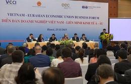 Diễn đàn doanh nghiệp Việt Nam – Liên minh Kinh tế Á - Âu