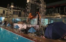 Hải Phòng: Tham gia Pool Party, một người bị điện giật chết