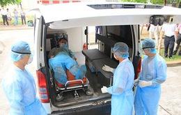 Cận cảnh diễn tập phòng chống bệnh MERS tại Hà Nội