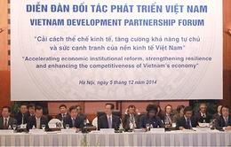 Khai mạc Diễn đàn đối tác phát triển Việt Nam