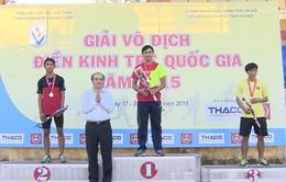 Giải vô địch Điền kinh trẻ quốc gia 2015: Thiết lập 8 kỷ lục trẻ quốc gia mới