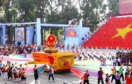 Mít tinh trọng thể kỷ niệm 40 năm giải phóng miền Nam, thống nhất đất nước