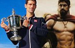 """Nhờ xem phim """"300"""", Djokovic mới đăng quang US Open"""