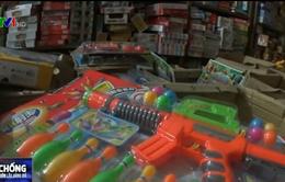 80% đồ chơi trẻ em trên thị trường có xuất xứ Trung Quốc