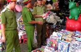 Bắc Giang: Bắt giữ số lượng lớn đồ chơi trẻ em nguy hiểm