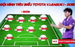 Đội hình tiêu biểu V.League 2015: B.Bình Dương, FLC Thanh Hóa áp đảo