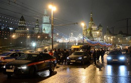 Tổng thống Nga lên án vụ sát hại Cựu Phó Thủ tướng Nemtsov