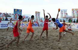 Nhiều khó khăn cho ĐT bóng ném bãi biển nam Việt Nam