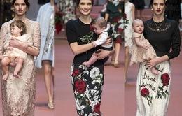 D&G tôn vinh vẻ đẹp các bà mẹ