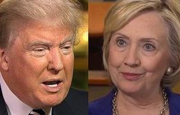 Bầu cử Tổng thống Mỹ: Tỷ phú Donald Trump và cựu Ngoại trưởng Hillary Clinton tiếp tục dẫn đầu