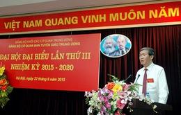 Đại hội Đảng bộ cơ quan Ban Tuyên giáo Trung ương