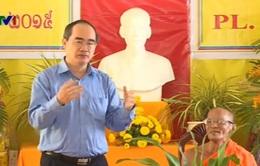 Chủ tịch Mặt trận Tổ quốc chúc Tết Chol Chnam Thmay ở Cần Thơ