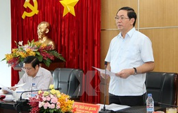 Ban chỉ đạo Trung ương về phòng chống tham nhũng làm việc với tỉnh Bình Dương