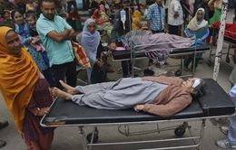 Thương vong tiếp tục tăng trong trận động đất tại Nam Á