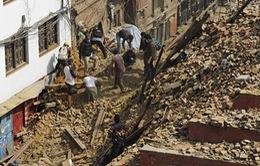 Động đất tại Nepal: Ít hy vọng tìm thấy người sống sót