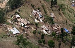 Động đất mạnh 7,4 độ Richter ở Nepal
