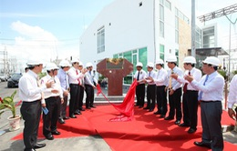 Gắn biển công trình trạm biến áp 500/220KV Trung tâm Điện lực Duyên Hải