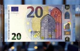 Đồng 20 Euro mới có độ bảo mật cao