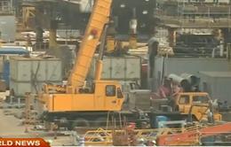 Hàn Quốc: Ngành đóng tàu đình trệ do giá dầu thô lao dốc
